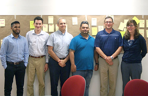 This six-member Kaizen team helped their company develop a five-year warehouse and logistics plan that would keep up with sales and improve efficiency.