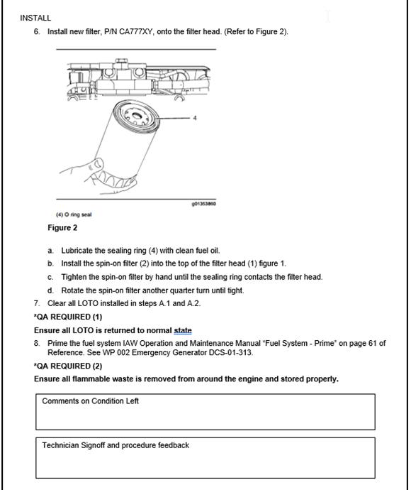 How to Write a Maintenance Task Procedure